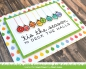 Preview: Lawn Fawn - Papierblock Really Rainbow Christmas Petite Paper Pack 6x6""