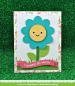 Preview: Lawn Fawn - Stanzschablone Outside In Stitched Flower Dies