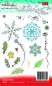 Preview: Polkadoodles - Clearstempelset Snowflake Garden