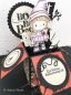 Preview: C.C. Designs - Swiss Pixie Cling Stamp Little Witch Lucy