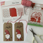 Preview: Joy! Crafts - Papierblock Noor Design Dear Santa A4