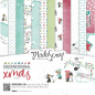 Preview: Elizabeth Craft Designs - Papierblock ModaScrap Unconventional Xmas Paper Pack 6x6""