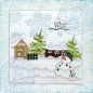 Preview: Leane Creatief Clearstempelset Snowman Winter Wishes