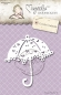 Preview: Magnolia - Doohickeys Stanzschablone Lovely Umbrella Die
