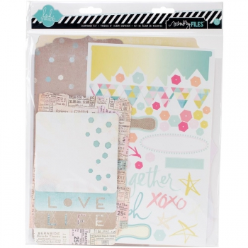 Heidi Swapp - Memory Files Scrapbook Kit Dreamy