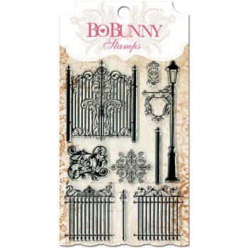 Bo Bunny - Clear Stamps Gateway 4x6""