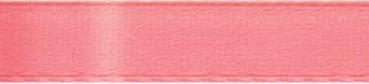 "Offray - Single Face Satin Ribbon 5/8"" - Coral Rose"