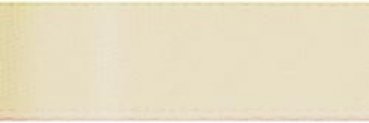 "Offray - Single Face Satin Ribbon 5/8"" - Cream"