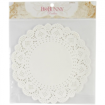 Bo Bunny - Paper Doilies Large - 20 Stück