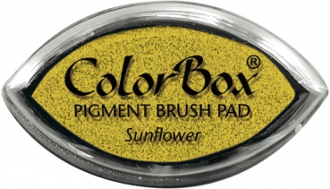 Clearsnap - ColorBox Pigment Brush Cat's Eye Inkpad Sunflower
