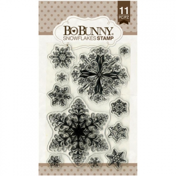 Bo Bunny - Clear Stamps Snowflakes