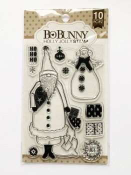 BoBunny - Clearstempelset Holly Jolly 4x6""