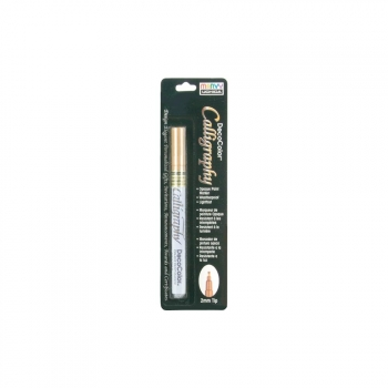 Uchida - Deco Color Calligraphy Opaque Paint Marker Gold