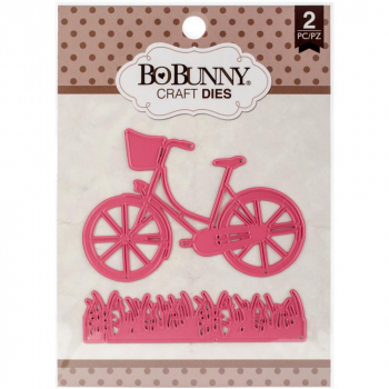 BoBunny - Stanzschablonen Bike Ride 2 Stück