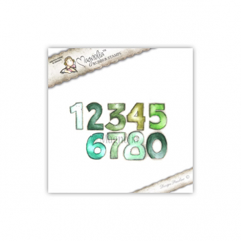 Magnolia - Princes & Princesses Cling Stamps Numbers
