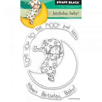 Penny Black - Clear Stamp Birthday Baby!