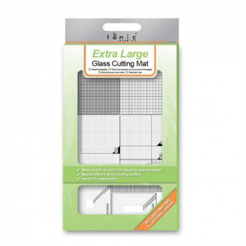 Tonic Studios Glasplatte Glass Cutting Mat 60.0x36.5cm