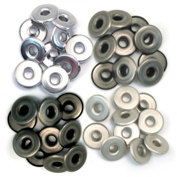 We R Memory Keepers - Wide Eyelets Cool metal