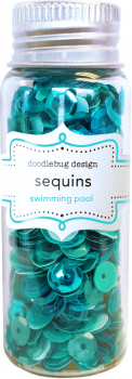 Doodlebug Design Swimming Pool Sequins