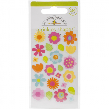 Doodlebug Design - Sprinkles Shapes Spring Flowers