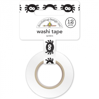 Doodlebug Design Washi Tape October 31 Spiders