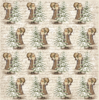 Maja Design - Scrapbooking Papier It's Christmas Time Expectations 12x12""