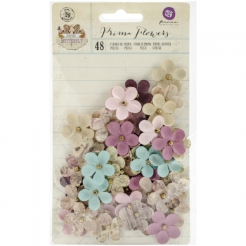 Prima Marketing - Butterfly Paper Flowers Bette