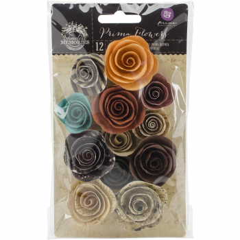 Prima Marketing - Timeless Memories Paper Flowers Flashback
