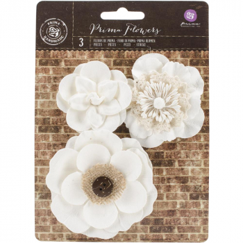 Prima Marketing - Chaste Mulberry Papierblumen Sancia Paper Flowers