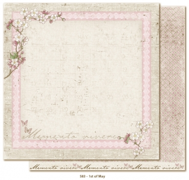 Maja Design - Scrapbookingpapier Vintage Spring Basics 1st of May 12x12""