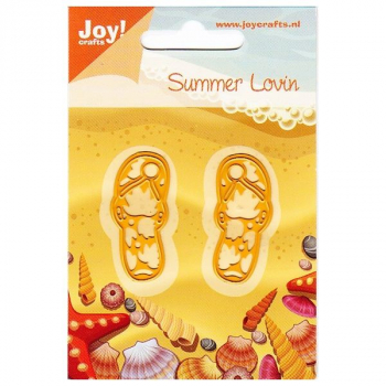Joy! Crafts - Stanzschablonen Summer Lovin Flip Flops Dies