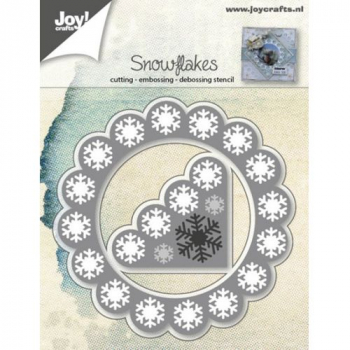 Joy! Crafts - Stanzschablone Snowflakes