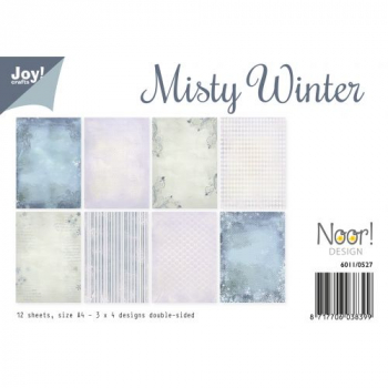 Joy! Crafts Papierblock Noor Design Misty Winter A4