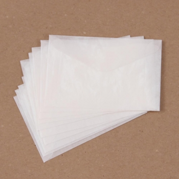 "Glassine Envelopes 2.5x3.75"" - 10 Stück"