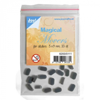 Joy! Crafts Magical Movers for Sliders 5x9mm 20 Stück