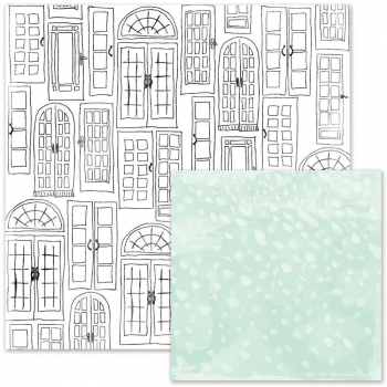 We R Memory Keepers - Love Notes French Doors 12x12""