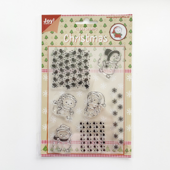Joy! Crafts - Clearstempelset Christmas
