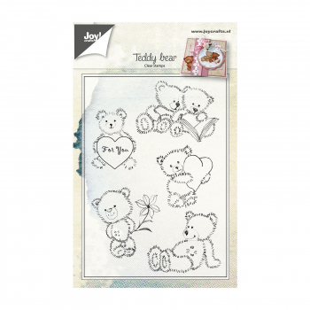 Joy! Crafts Clearstempelset Teddybären Set 10.0x14.5cm