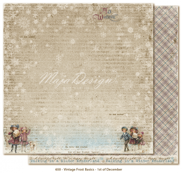 Maja Design - Vintage Frost Basics - 1st of December 12x12""