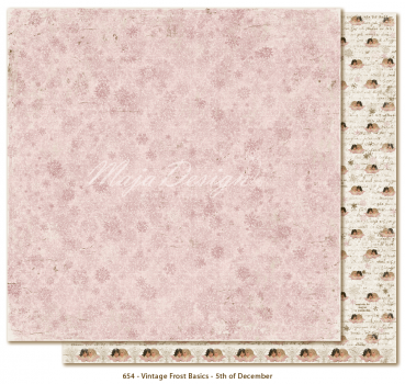 Maja Design - Vintage Frost Basics - 5th of December 12x12""
