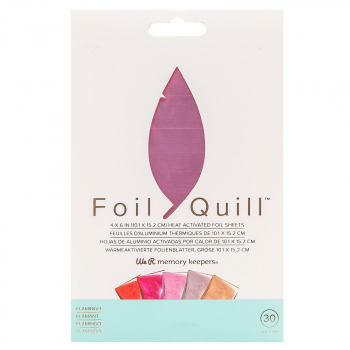 We R Memory Keepers - Foil Quill Folienblätterset Flamingo