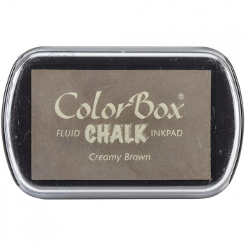 Clearsnap - ColorBox Fluid Chalk Inkpad Creamy Brown