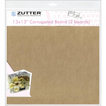 "Zutter - Bind-it-All - 13x13"" Corrugated Board (2 boards)"