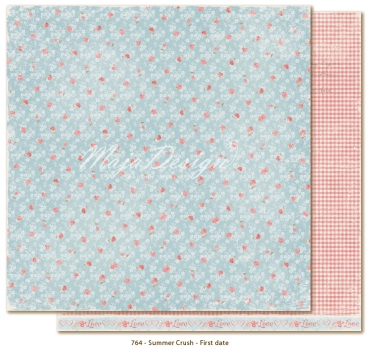 Maja Design - Scrapbookingpapier Summer Crush First Date 12x12""
