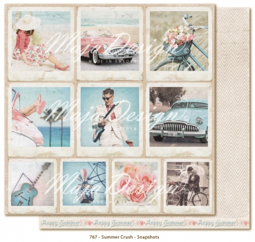 Maja Design - Summer Crush Snapshots 12x12""