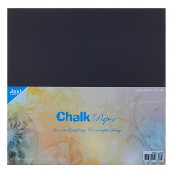 Joy! Crafts Kreidepapier Chalk Paper 30.5x30.5cm 25 Blatt