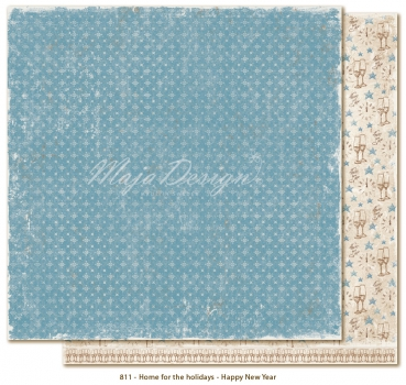 Maja Design - Home for the Holidays Happy New Year 12x12""