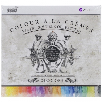 Prima Marketing - Water Soluble Oil Pastels 24 Colors