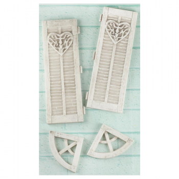 Prima Marketing - Shabby Chic Treasures Resin Lage Window Closers