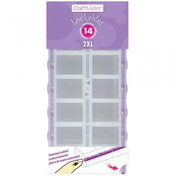 Craft Mates - Lockables 14 Compartments